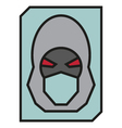 Hacker Icon vector image vector image