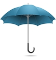open blue umbrella vector image