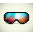 Ski Goggles vector image vector image