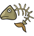 fishbone clip art cartoon vector image