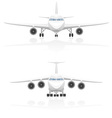 airplane 01 vector image