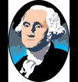 George Washington vector image vector image