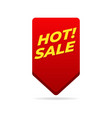 hot sale pin label sign vector image vector image