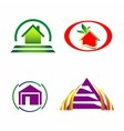 House and construction icons logo vector image vector image