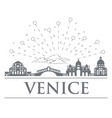 panorama of the badges icons symbols of italy vector image