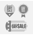 Presidents Day Labels Set on white Background vector image