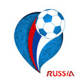 russian match paper cutout background vector image