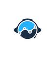 stats podcast logo icon design vector image