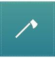 tomahawk flat icon vector image