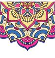 vintage flower mandala design image vector image vector image