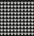 background of black and white rhombuses vector image vector image