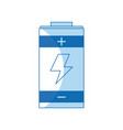 battery power energy charging design vector image vector image