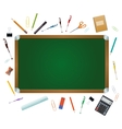 Class board vector image