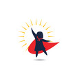 kids super concept icon design vector image