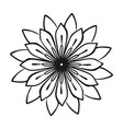 medicine flower plant icon simple style vector image