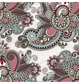 ornate floral background vector image vector image