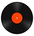 realistic retro vinyl gramophone record disk vector image