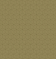 Abstract geometric hexagon cube seamless patterns