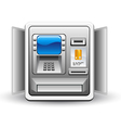 atm machine vector image vector image