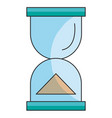 hourglass timer isolated icon vector image
