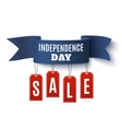 Independence Day 4th of July sale vector image vector image