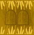 shavuot concept of judaic holiday ears of wheat vector image