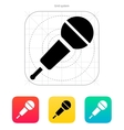 Wireless microphone icon vector image vector image