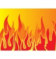Aggressive fire Background EPS vector image vector image