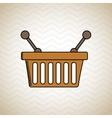basket shopping design vector image