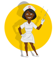 beautiful nurse vector image