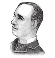 charles e davies vintage vector image vector image