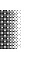 classic pixel dither pattern gradient retro design vector image vector image