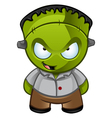Frankensteins Monster Naughty Grin vector image