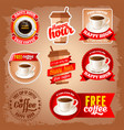 Free coffee vector image