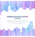 Watercolor Colorful Abstract Background vector image