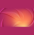 abstract template design in vector image vector image
