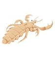 Cartoon Louse vector image vector image