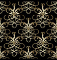 floral paisley seamless pattern vector image vector image