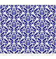 floral porcelain damask pattern vector image vector image