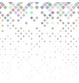 geometric rounded square pattern - tiled mosaic vector image vector image