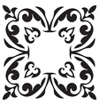 Hand drawing decorative tile frame Italian vector image vector image