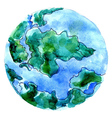 Hand Drawn Earth4 vector image vector image
