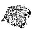 head hawk eagle usa america logo on white ba