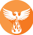 phoenix icon vector image vector image