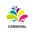 logo carnival vector image