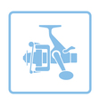 Icon of Fishing reel vector image vector image