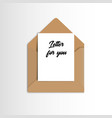open mail icon with thank you message eps 10 vector image vector image