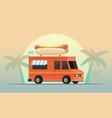 street food truck i vector image vector image