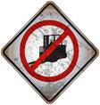 Street Warning Signs 22 vector image vector image