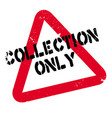collection only rubber stamp vector image vector image